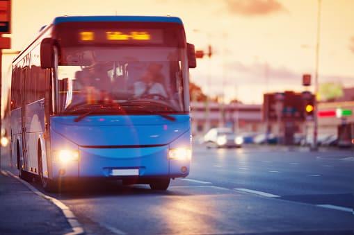 indemnización por accidente de autobus