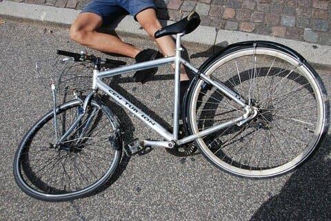 indemnización por accidente ciclista